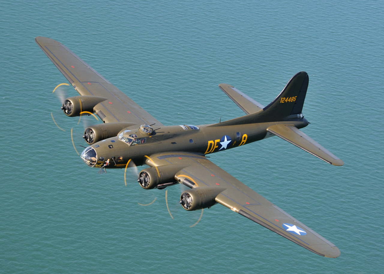 B-17 Movie Memphis Belle