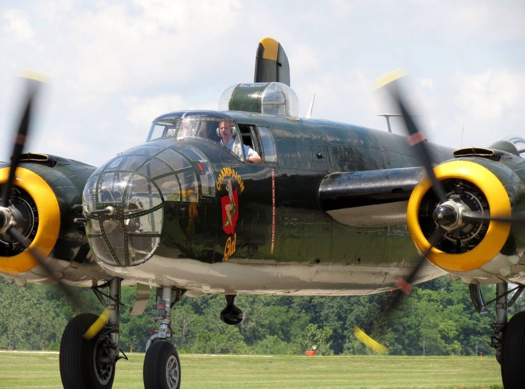 B-25 Mitchell Flight Experience