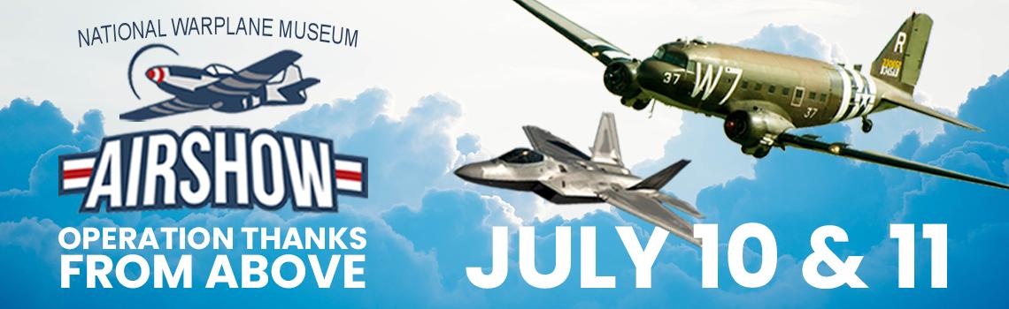 National War Plane Museum | Airshow 2021