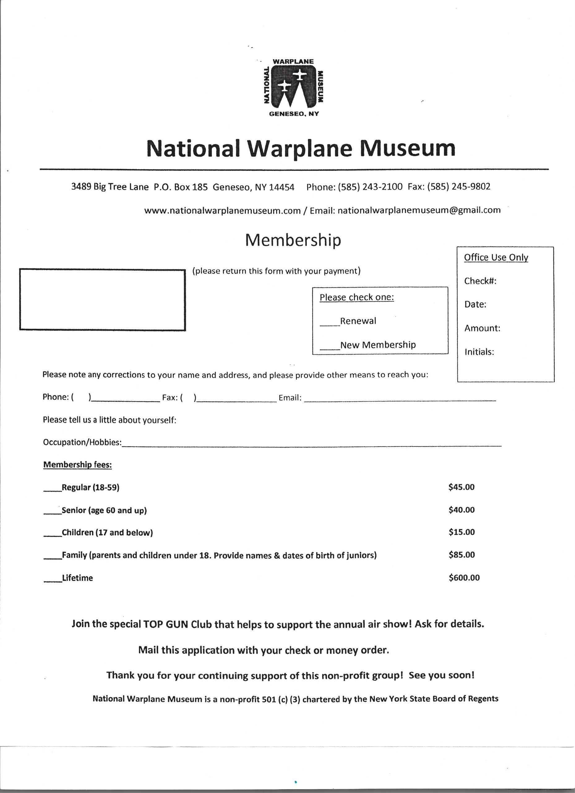 NWM Membership App